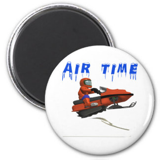 Air Time 6 Cm Round Magnet