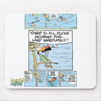 Air Traffic Control Comic Mousepad