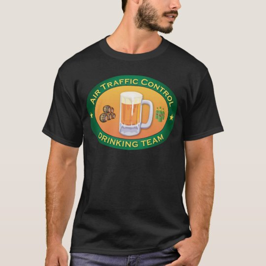 Air Traffic Control Drinking Team T-Shirt