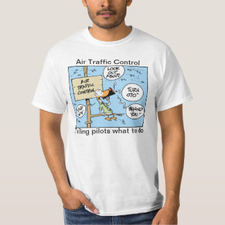 Air Traffic Control Funny Cartoon Shirt