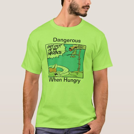 Air Traffic Control Hungry Humour T-Shirt