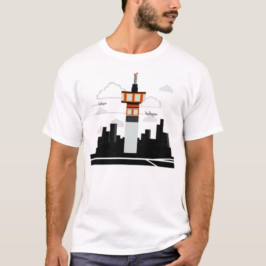 Air Traffic Control Tower T-Shirt