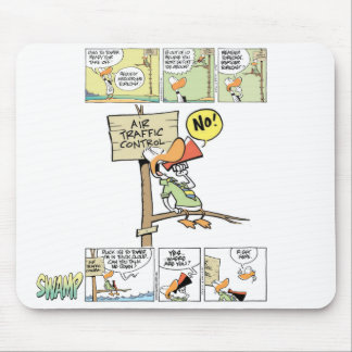 Air Traffic Controller Duck Mouse Pad
