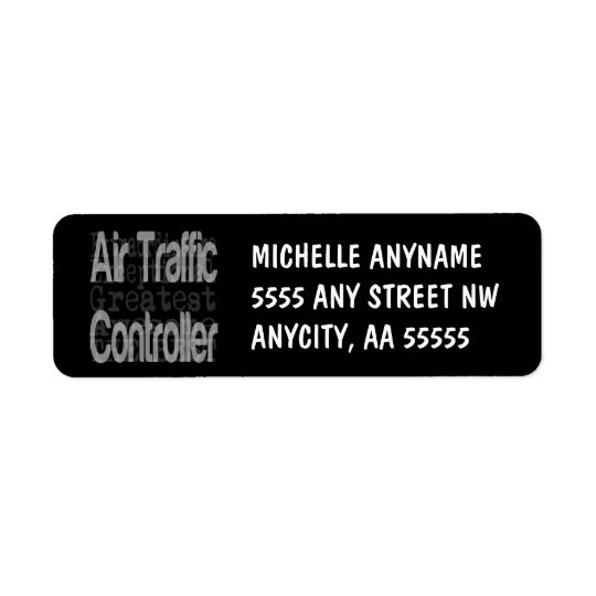 Air Traffic Controller Extraordinaire Return Address Label