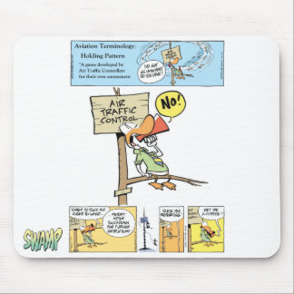 Air Traffic Controller Jokes Mouse Mat