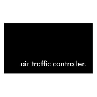 air traffic controller. pack of standard business cards