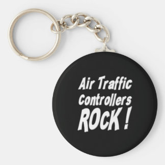 Air Traffic Controllers Rock! Keychain