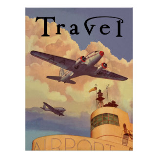 Air Travel Poster