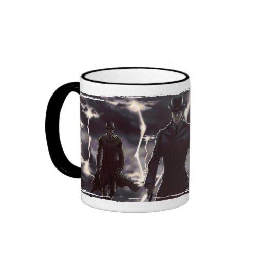 Air Travel Ringer Coffee Mug