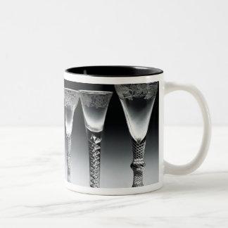 Air-twist glasses, 1750-60 Two-Tone coffee mug