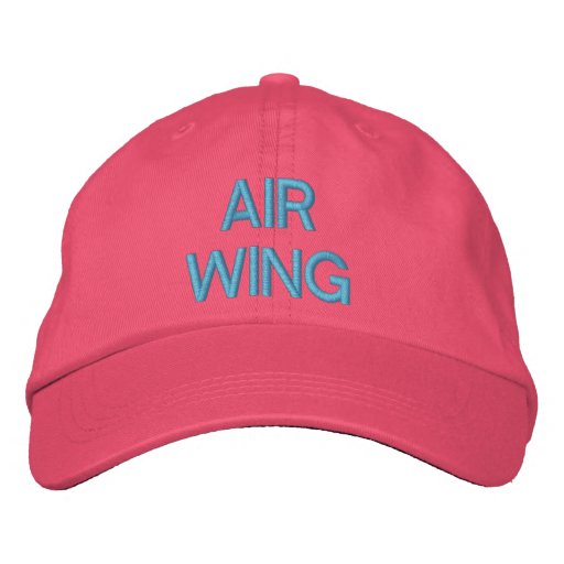 """""""AIR WING"""" PILOTS CAP EMBROIDERED HAT"""