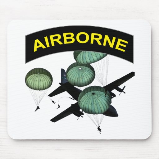 Airborne 2 mouse pad