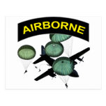 Airborne 2 post card