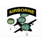 Airborne 2 postcard