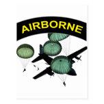 Airborne 2 postcards