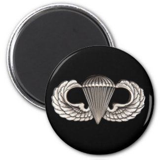 Airborne 6 Cm Round Magnet