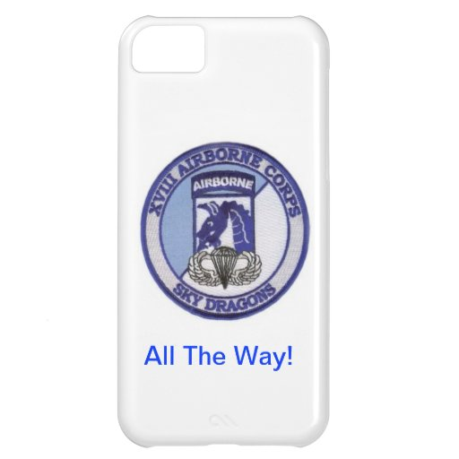 Airborne All The Way! iPhone 5C Case
