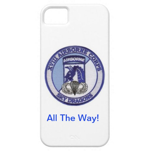 Airborne All The Way! iPhone 5 Cover