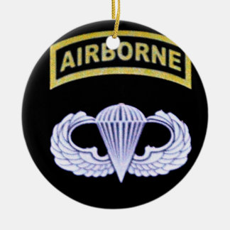 Airborne All The Way! Christmas Ornament