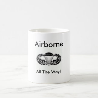 Airborne All The Way Mugs