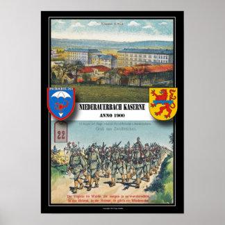 Airborne Barracks Niederauerbach Print