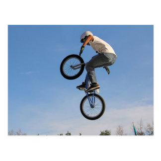 Airborne BMX Jump Postcard