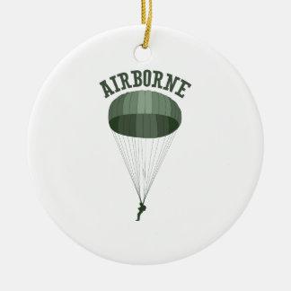 Airborne Christmas Ornament