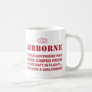 AIRBORNE COFFEE MUG