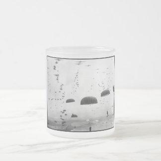 Airborne Mission During WW2 Painting Mug