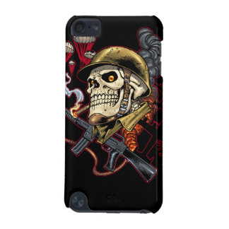Airborne or Marine Paratrooper Skull with Helmet iPod Touch 5G Case