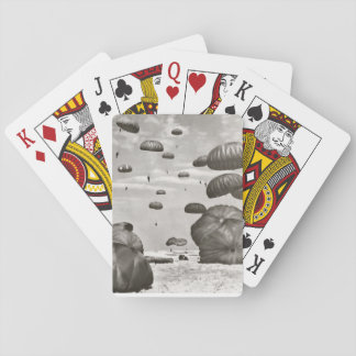 Airborne Paratroopers Playing Cards