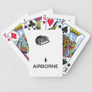 Airborne Playing Cards