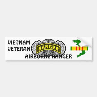 Airborne Ranger bumper sticker