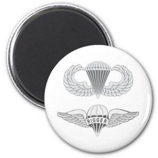 Airborne Rigger Magnet