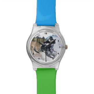 Airborne Snowmobile Wristwatch