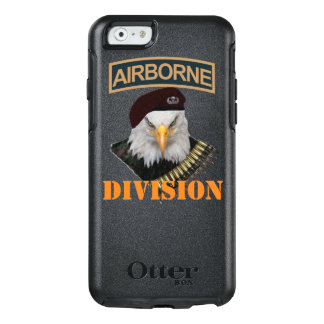 Airborne units bold eagle style OtterBox iPhone 6/6s case