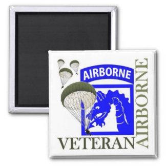 Airborne Vet Magnet