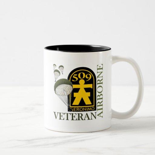 Airborne Veteran - 509th PIR Mugs