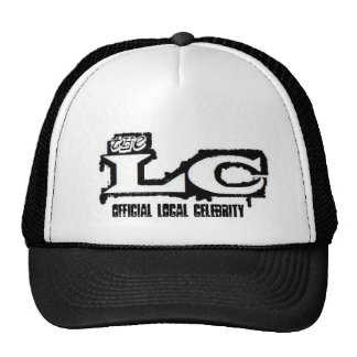 airbrush lc logo, Official Local Celebrity Cap