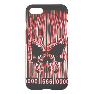 Airbrush Red Demon Barcode 666 iPhone 7 Case