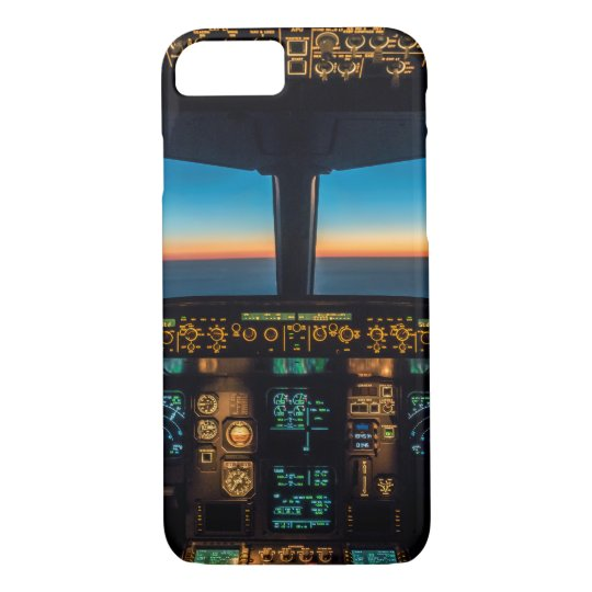 Airbus A320 cockpit Smartphone covering iPhone 7 Case