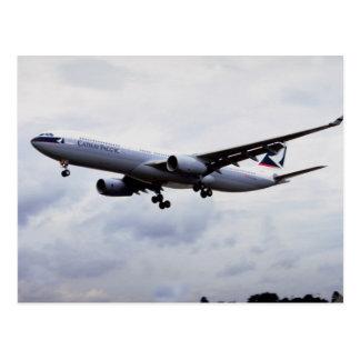 Airbus A330 Postcard