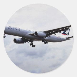 Airbus A330 Round Sticker