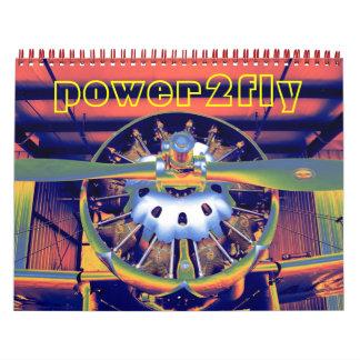 Aircraft / airplane engine Calendar  2012