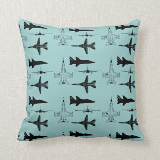 Aircraft airplanes boys flying cushion