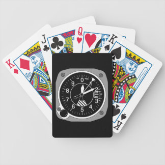 Aircraft Altimeter Bicycle Playing Cards
