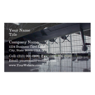 Aircraft Pack Of Standard Business Cards