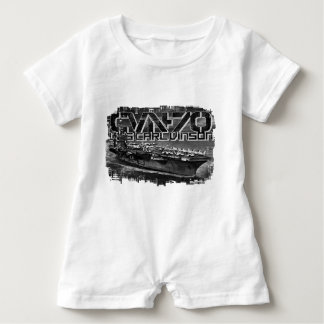 Aircraft carrier Carl Vinson Baby Romper T-Shirt