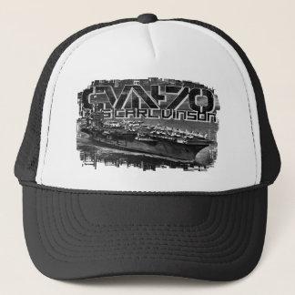 Aircraft carrier Carl Vinson Trucker Hat