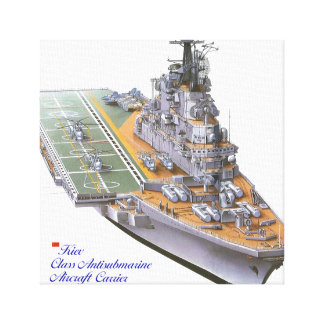 Aircraft Carrier for post Canvas Prints